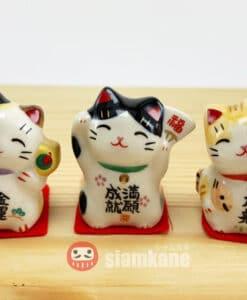 Lucky cat Shiawase neko 3cm 3 styles